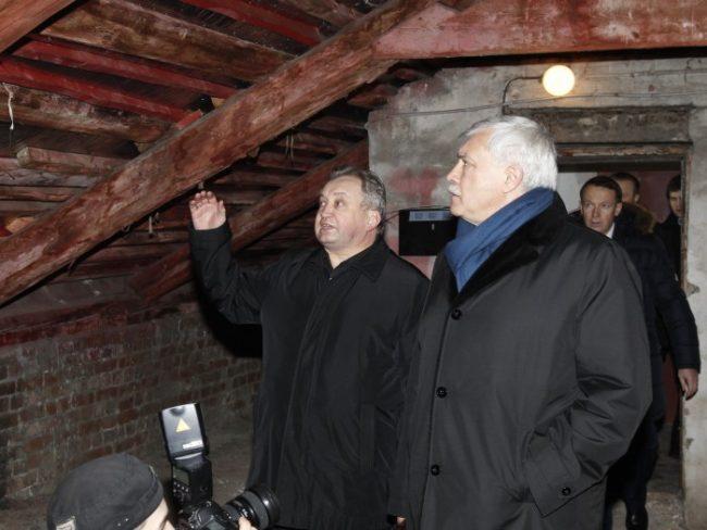 Губернатор провёл объезд Невского района
