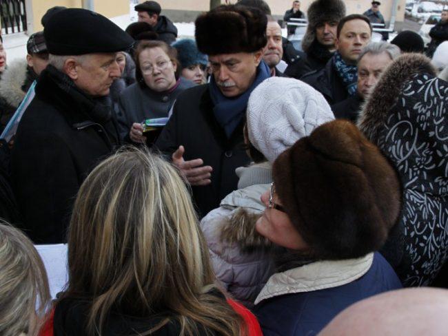Губернатор провёл объезд Невского района, фото пресс-службы Смольного