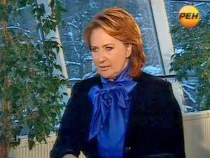Елена Скрынник, кадр РЕН-ТВ