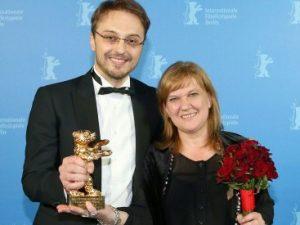 Режиссер Калин Нетцер и продюсер Ада Соломон, фото пресс-службы Берлинале