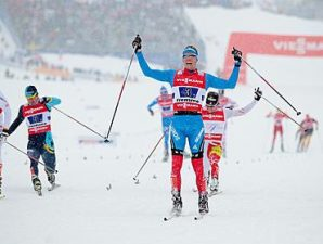 Лыжники, фото с сайта чемпионата Cross Country