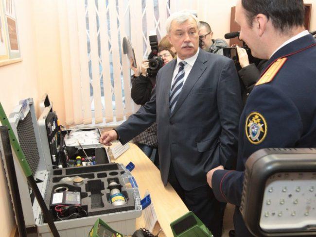 Открытие нового здания следственного отдела во Фрунзенском районе, фото пресс-службы Смольного
