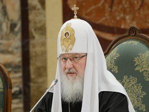 Патриарх Кирилл, фото пресс-службы Московкого Патриархата