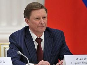 Сергей Иванов, фото пресс-службы Кремля