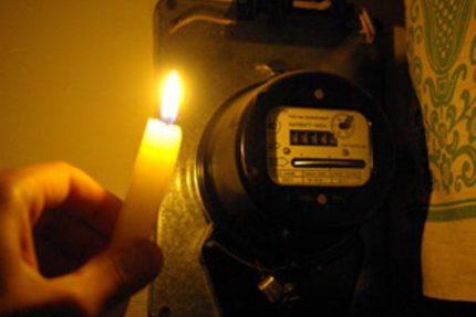 счетчик, Электричество, фото с сайта www.ogo.ua