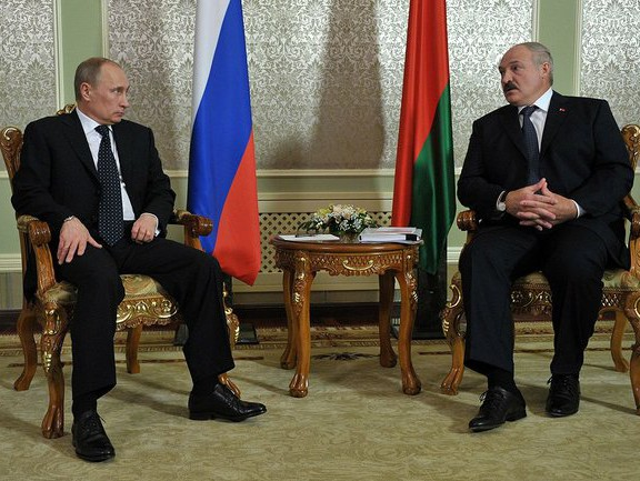 Владимир Путин и Александр Лукашенко, фото пресс-службы Кремля