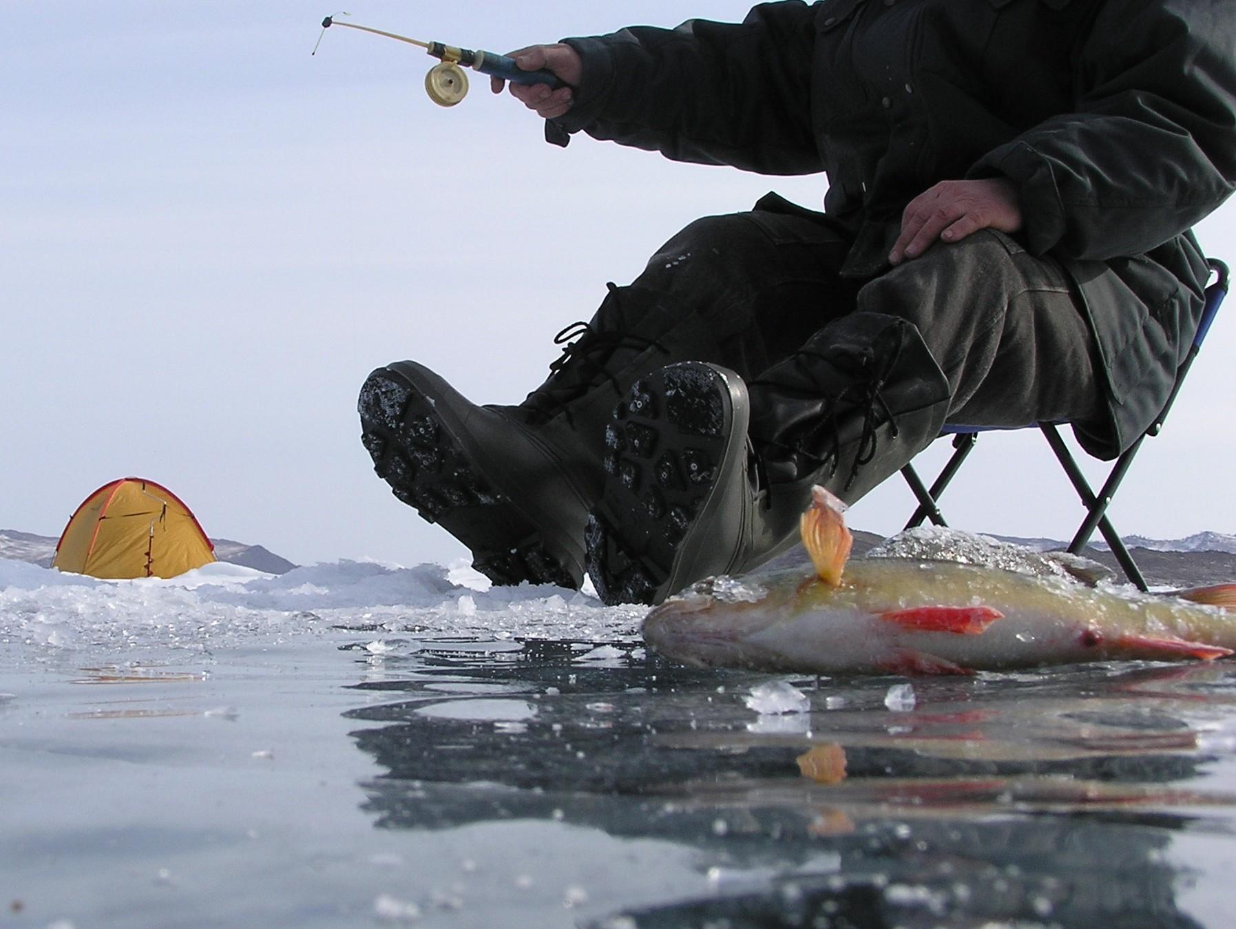 Особенности зимней ловли: зачем рыбаки выходят на лёд?