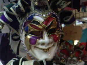 венецианская маска, тупое фото скороспеловой