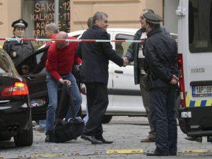 Взрыв в Праге