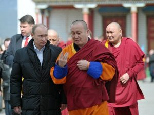 Путин и буддисты 2