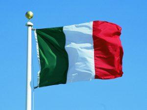 флаг италии, фото с сайта www.sunhome.ru