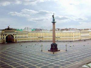 Дворцовая площадь город Петербург, фото с сайта martinhotel.ru
