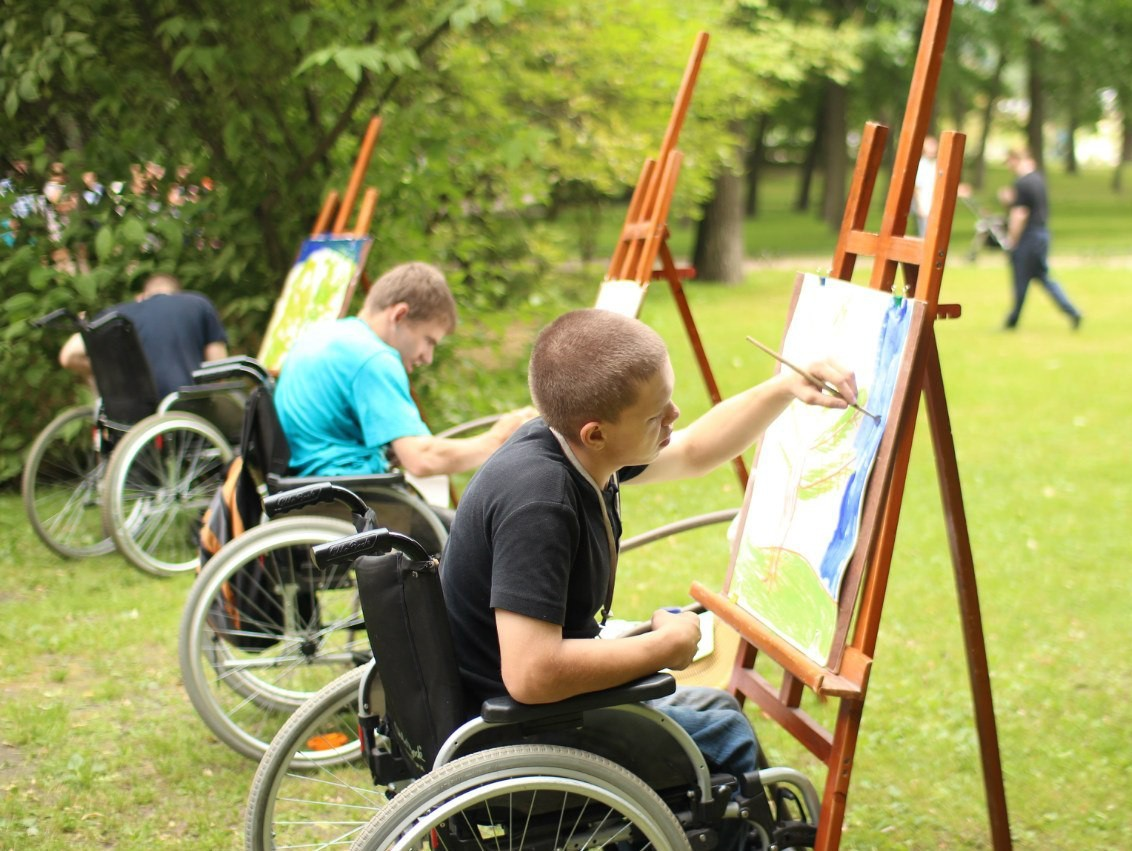 Картинки дети-инвалиды и дети с ограниченными возможностями, палец открытки