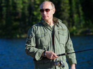 Путин в Туве отдых отпуск