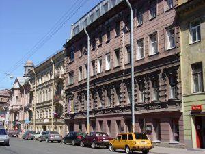 Разъезжая улица, Петербург город дороги