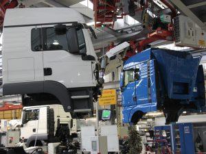 завод MAN в Шушарах, грузовики, фото пресс-службы Смольного