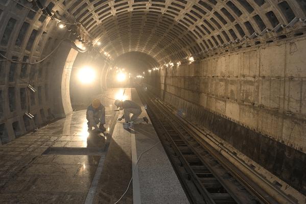 Строительство метро, фото ОАО Метрострой