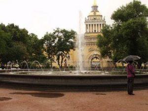 фонтан в Александровском саду, Адмиралтейство, фото с сайта www.panoramio.com