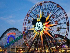 Диснейленд в Калифорнии, карусели, фото с сайта Disney