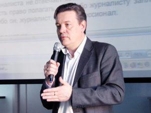 Петр Годлевский, фото с сайта журфака СПбГУ