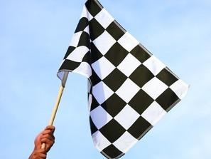ралли гонки флаг