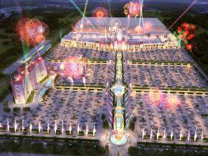 """Парк Развлечений Dreamworks  в Петербурге, проект ГК """"Регионы"""""""