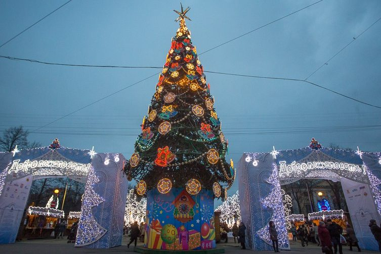 елка ярмарка новый год