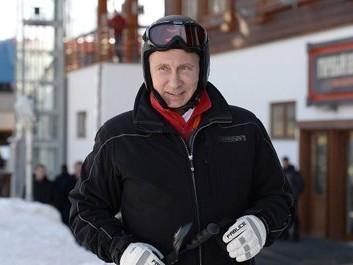 путин на лыжах в сочи