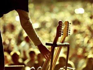 рок, музыка, концерт, гитара
