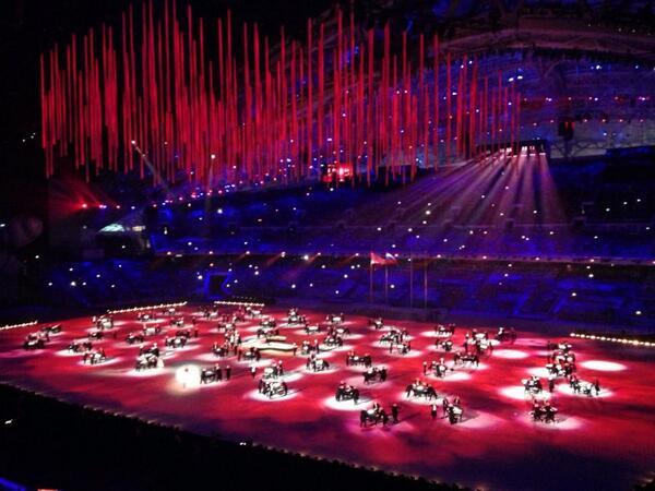 церемония закрытия игр в сочи музыка