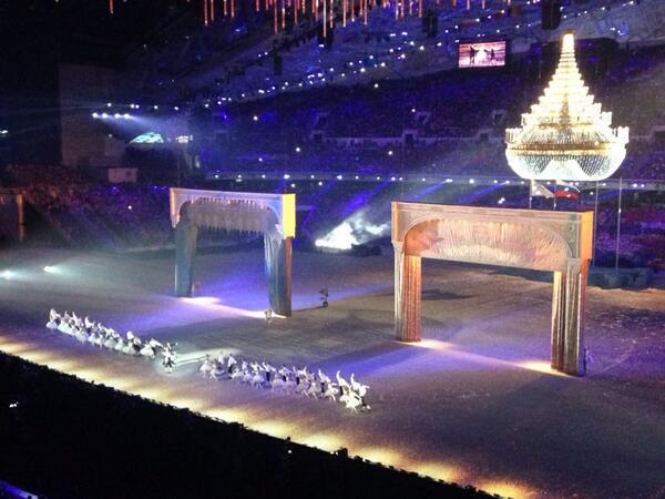 церемония закрытия игр в сочи балет