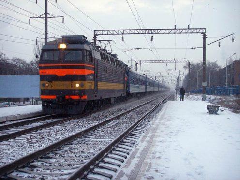 поезд электричка