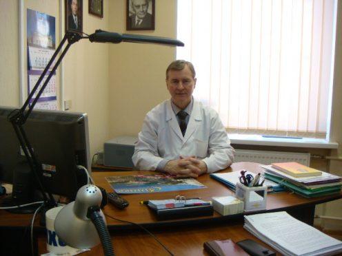 Владимир Курпатов на рабочем месте