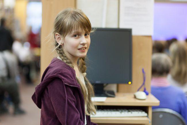 Екатерина, школьница