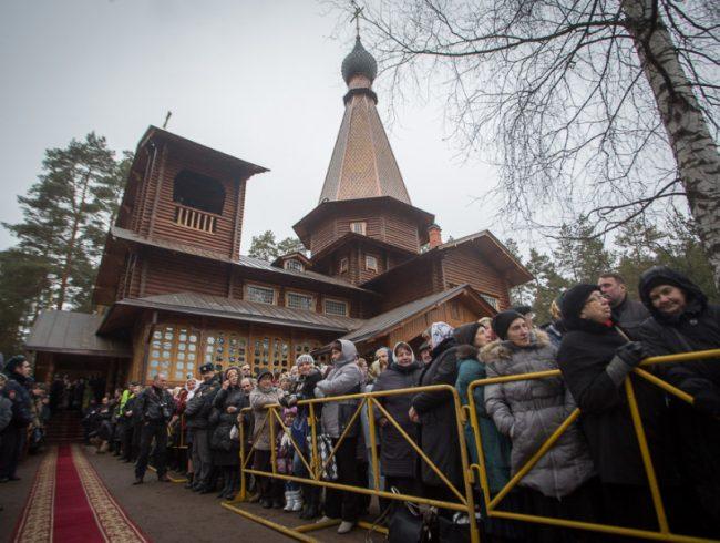 церковь прихожане православие Вырица