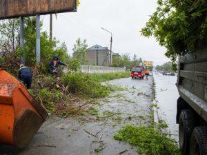 ураган на Сахалине