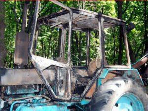 трактор пожар мчс
