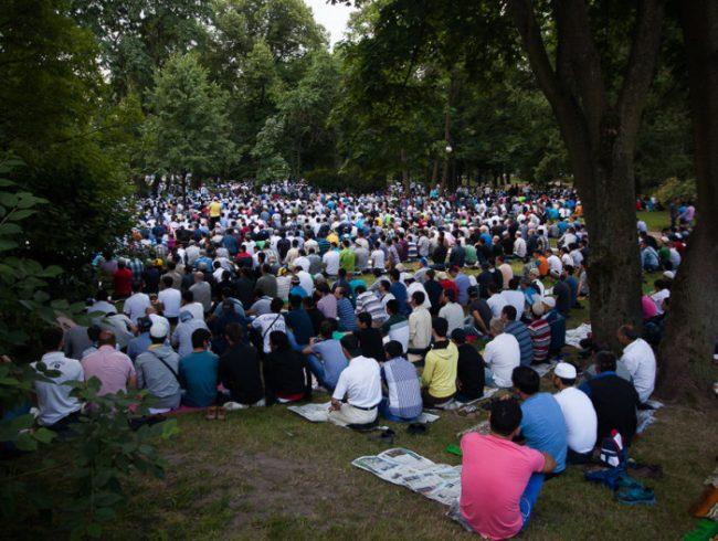 ураза-байрам мусульмане ислам мигранты