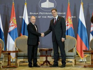 путин и президент сербии