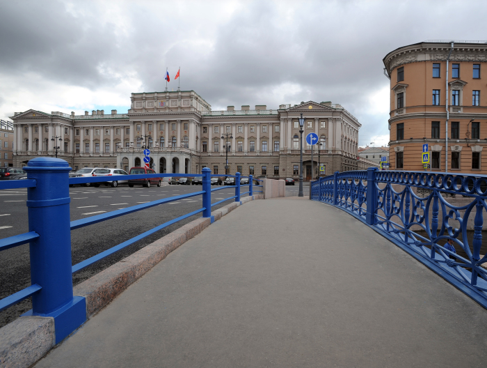 синий мост исаакиевский собор мариинский дворец заксобрание