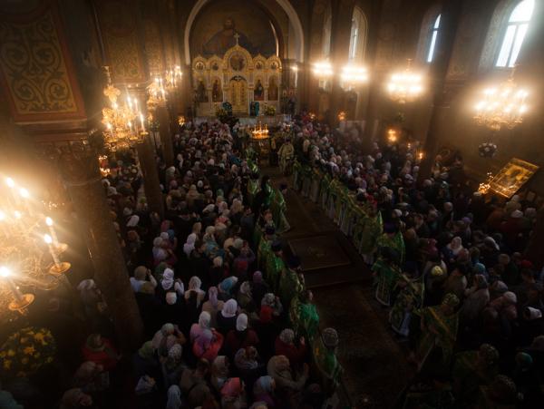 крестный ход в память Сергия Радонежского