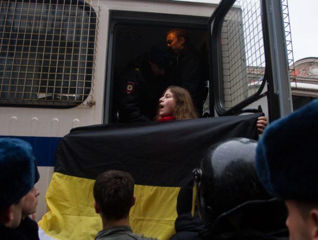 националисты дина гарина русский марш