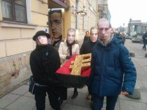 похороны рубля