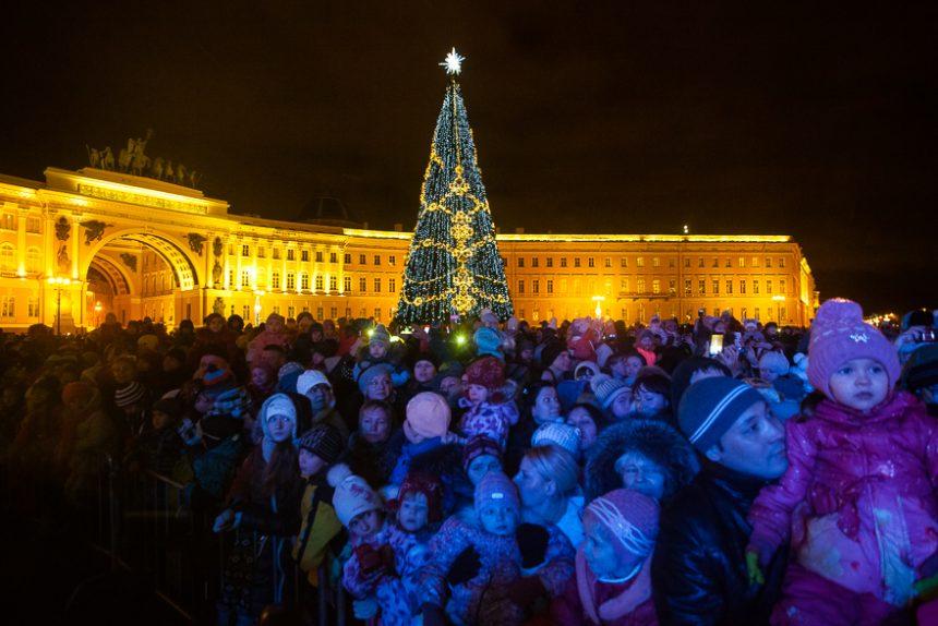 новый год елка ярмарка