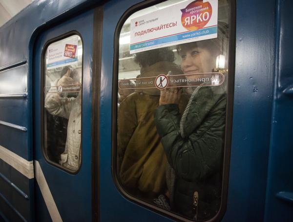 открытие метро Лиговский проспект давка в метро час пик