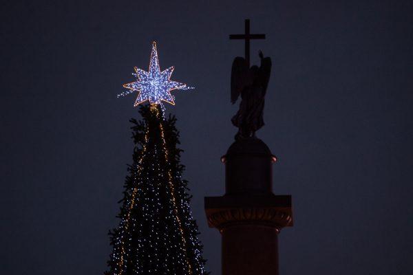 новый год елка дворцовая площадь