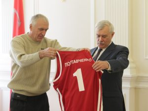полтавченко и баскетбол