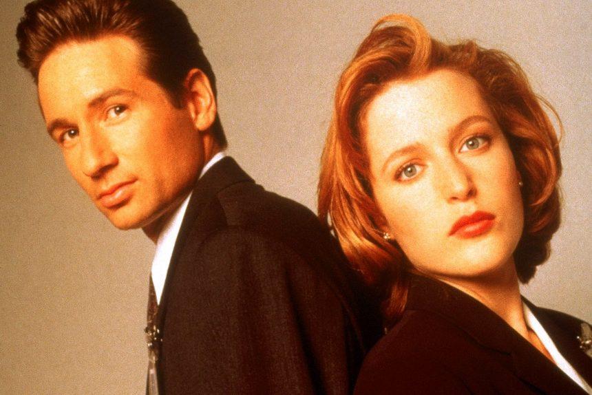 The X Files (serie tv) секретные материалы дэвид духовны джиллиан андерсон