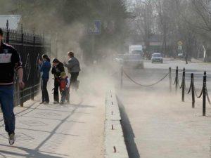 пылища