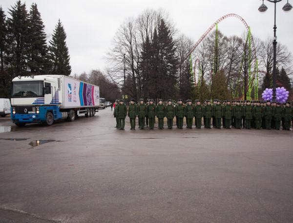 акция сирень победы солдаты георгиевские ленточки